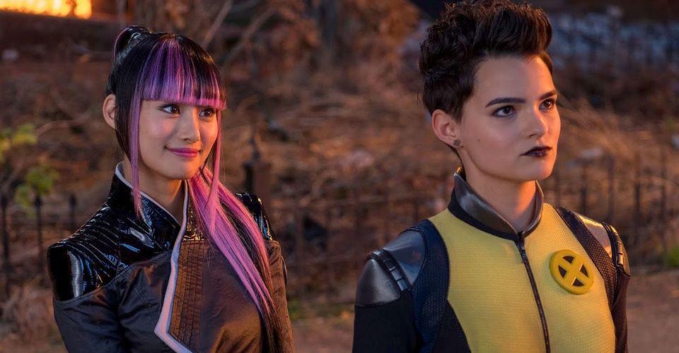 Women from X-Men team