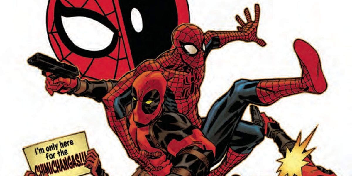 Wade Wilson Makes a 'One More Day' Joke in Spider-Man