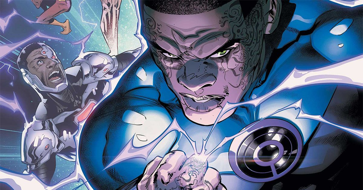 Justice League 2 Introduces The Ultraviolet Lantern Corps Their