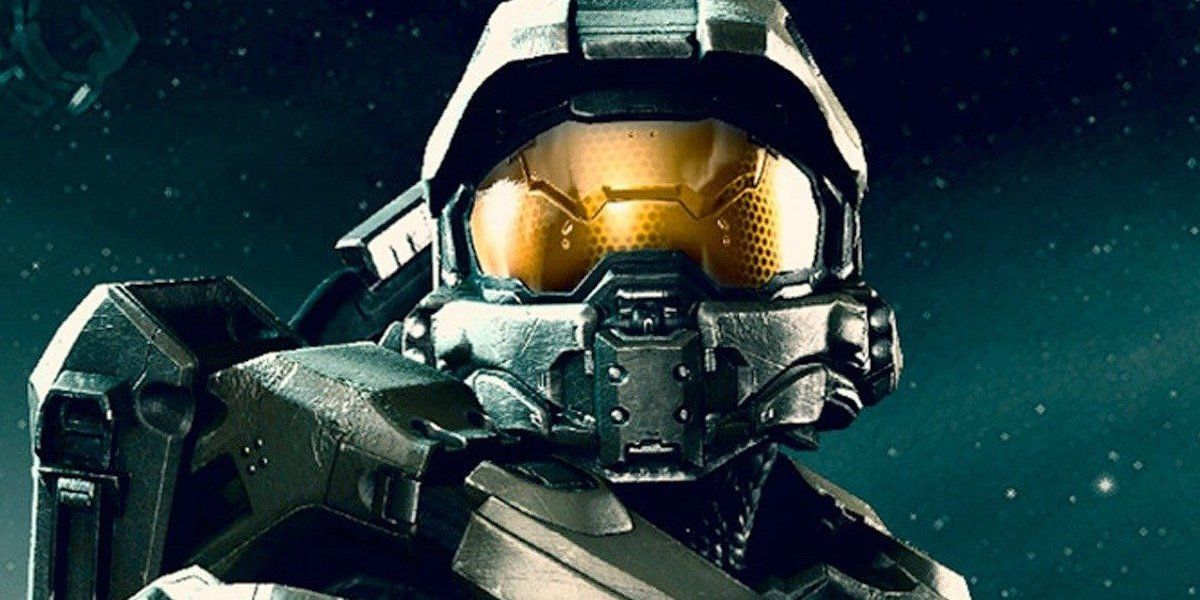 Halo Star Pablo Schreiber Picks Up His Spartan Helmet in New Photo