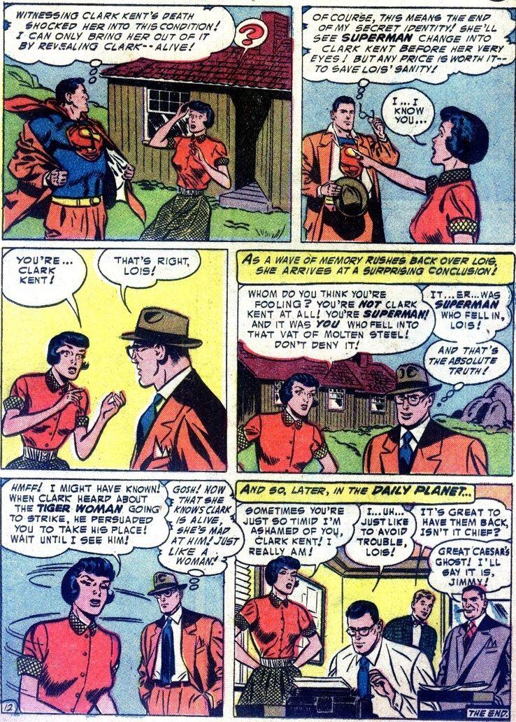 """action comics 195 - ¿Cuándo dijo Perry White por primera vez """"Por el Fantasma del Gran César"""" en los cómics?"""