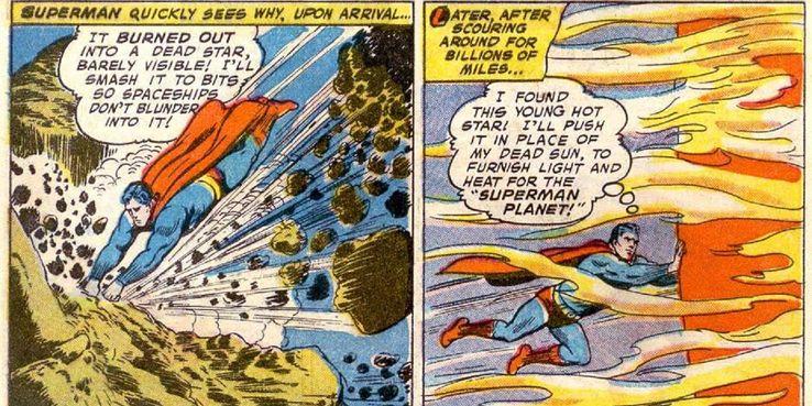 Superman's 20 Most OP Feats Of Strength   CBR