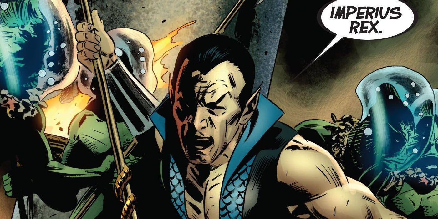 Thor #1 Finally Reveals the Meaning of Namor's 'Imperius Rex' Battle Cry