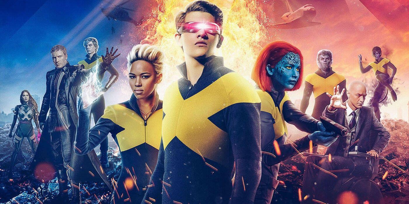 X,Men Unite in Gorgeous Dark Phoenix Fan Posters