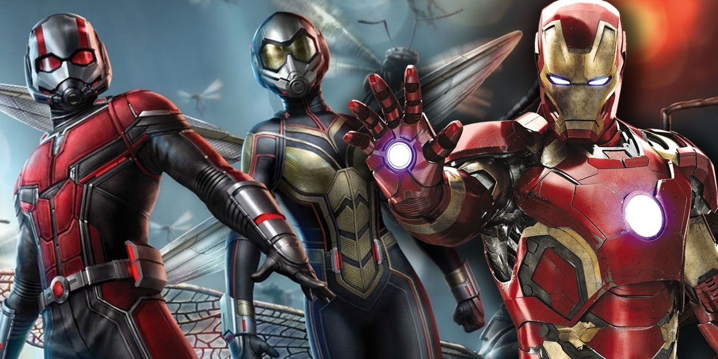 Iron Man 2 Foreshadowed Ant-Man and the Wasp's Project GOLIATH