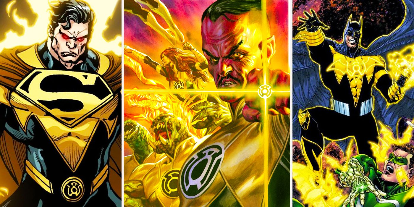 the 20 deadliest sinestro corps members officially ranked cbr