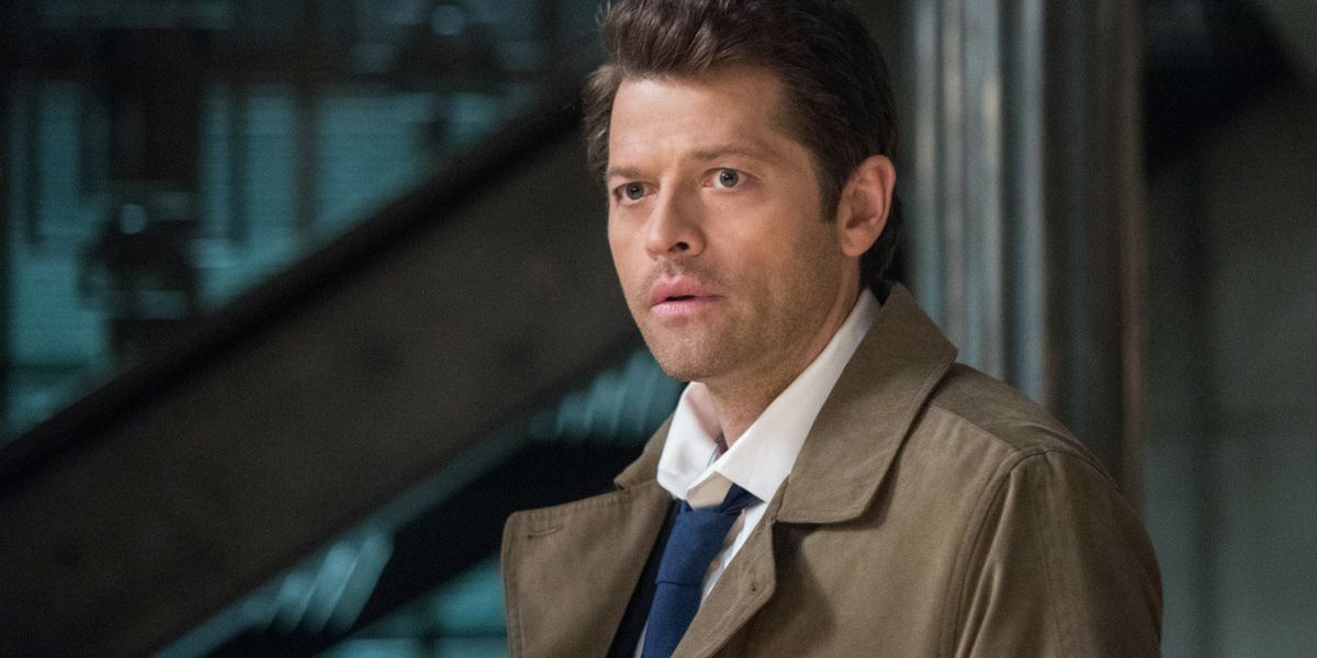 Supernatural Photos Reveal Castiel's Pink Prom Gown and Date