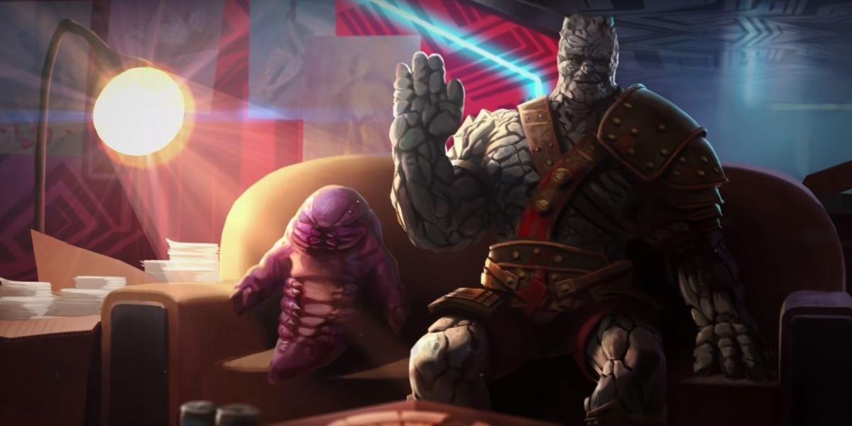 Avengers: Endgame Concept Art Arms Korg and Miek for Battle | CBR