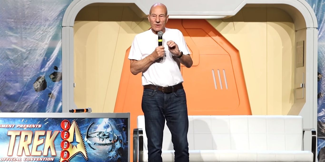Watch Patrick Stewart Get Emotional While Announcing Return