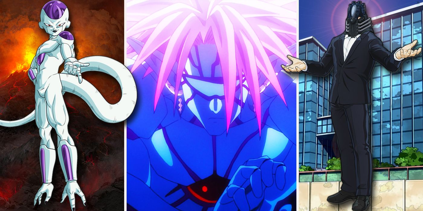 Final bosses 25 main anime villains ranked from lamest to greatest