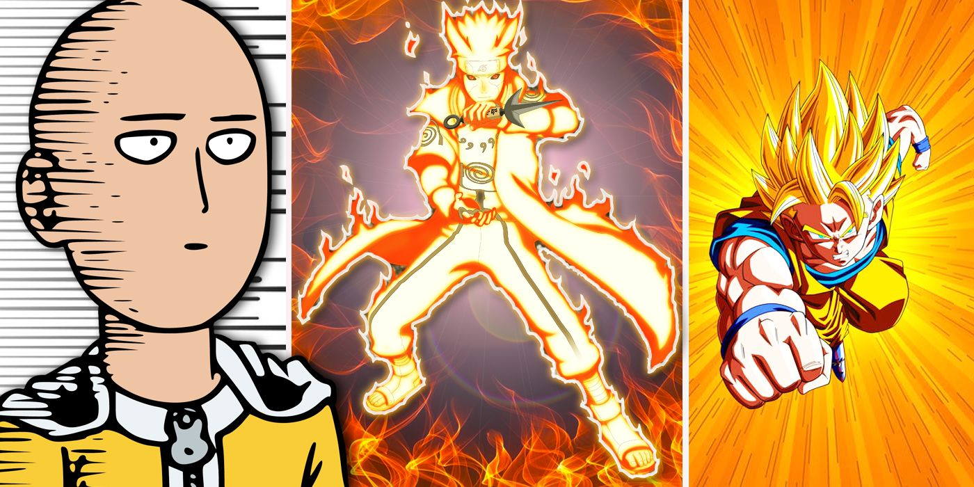 15 anime characters saitama could not one punch ko cbr