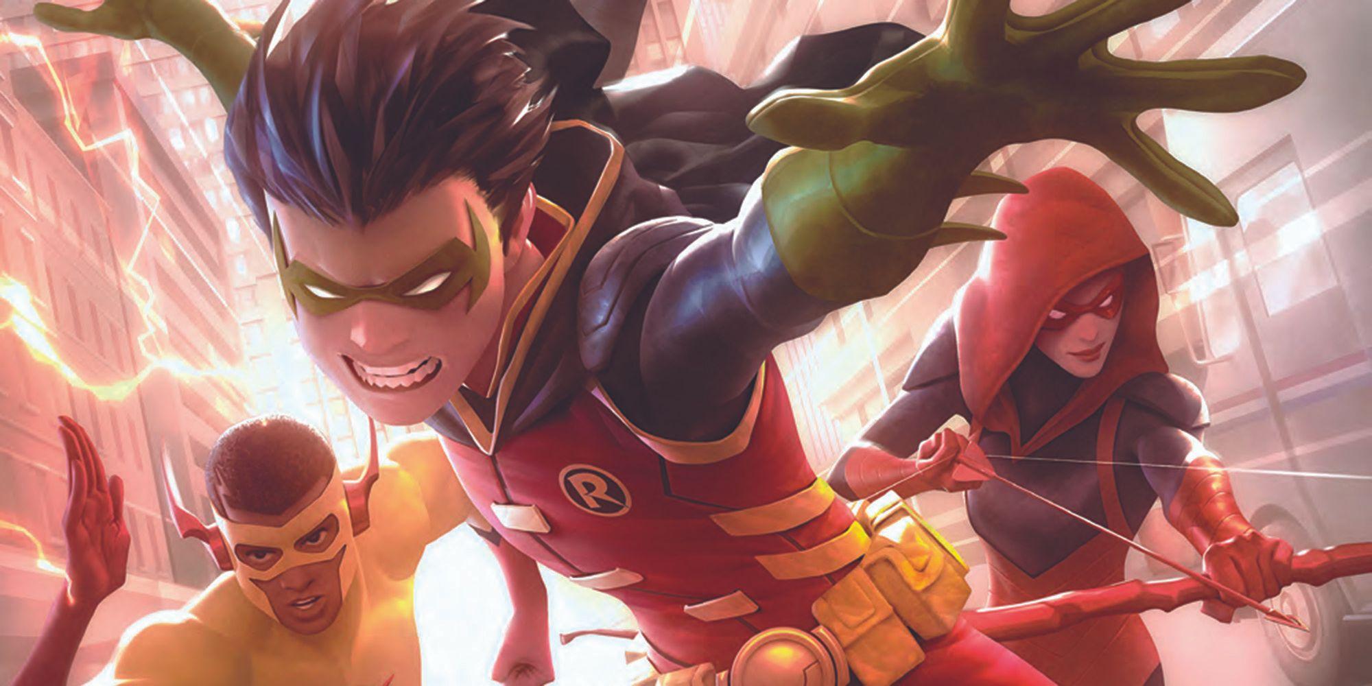 Jonathan Hickman Wants to Write DC's Teen Titans   CBR