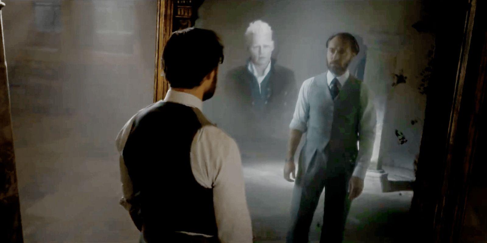 Why The Mirror Of Erised Showed Dumbledore Gellert Grindelwald