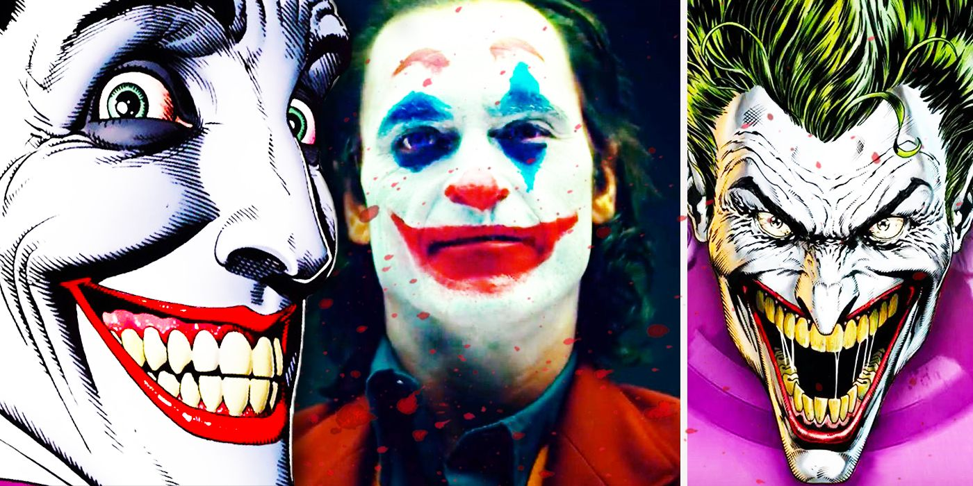What Do The Many Changing Faces Of The Joker Tell Us About