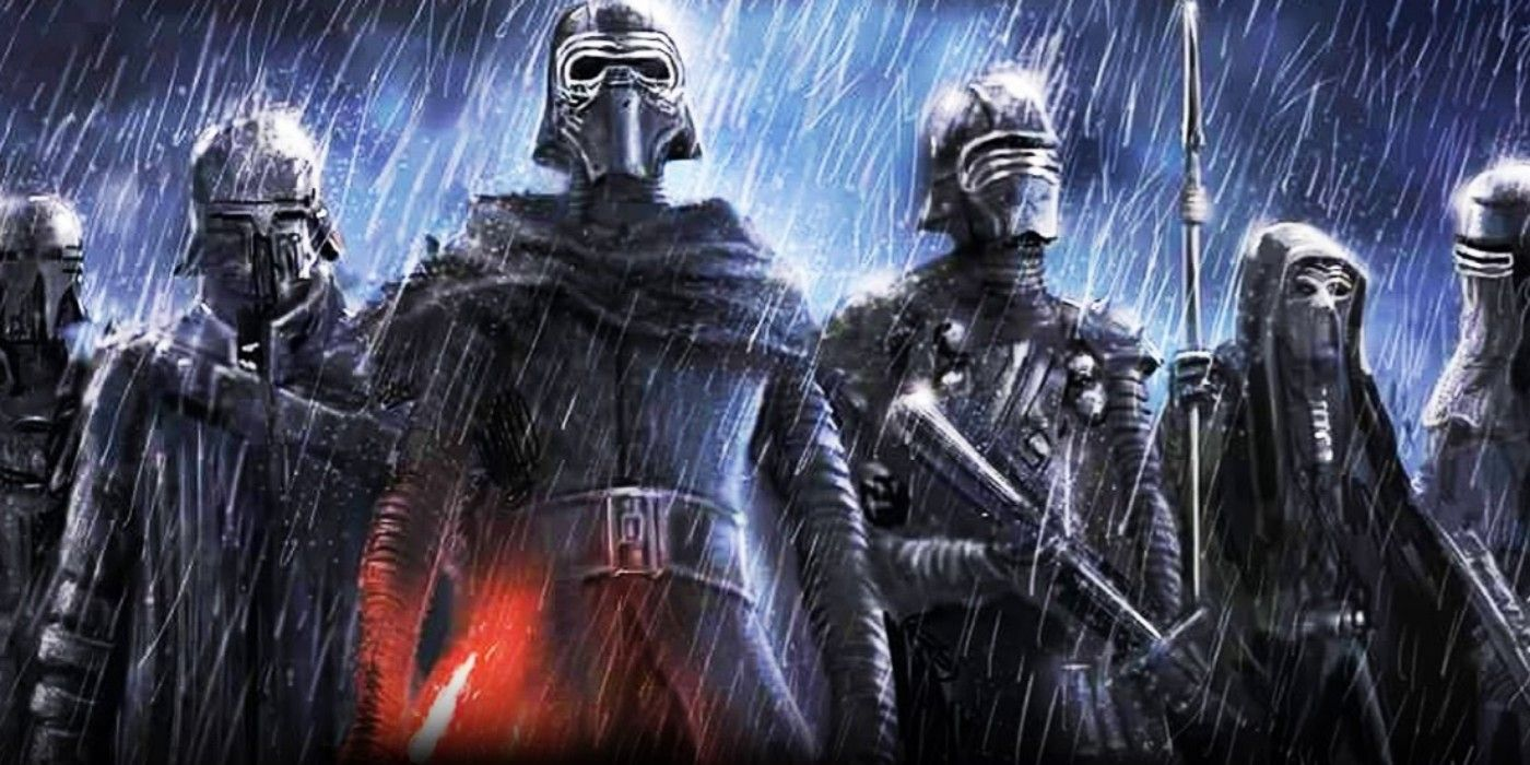 star wars theory the knights of ren are actually clones cbr. Black Bedroom Furniture Sets. Home Design Ideas