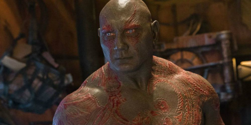Early Guardians of the Galaxy Drax Concept Art Reveals a Cyborg Design