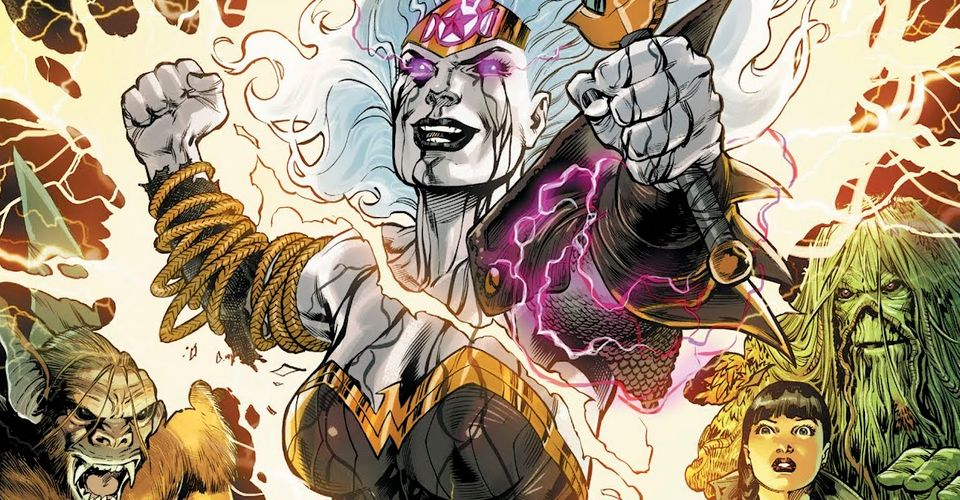 Wonder Woman as the face of magic. JLD Guest Star suggestion.