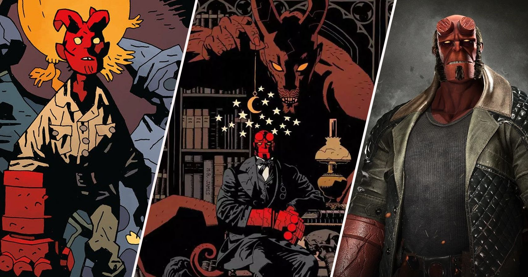 Anatomy Of Hell Deutsch hellboy: 15 things fans never knew about his anatomy | cbr