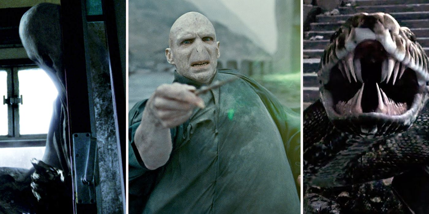 Dark Magic The 15 Most Powerful Harry Potter Villains Ranked