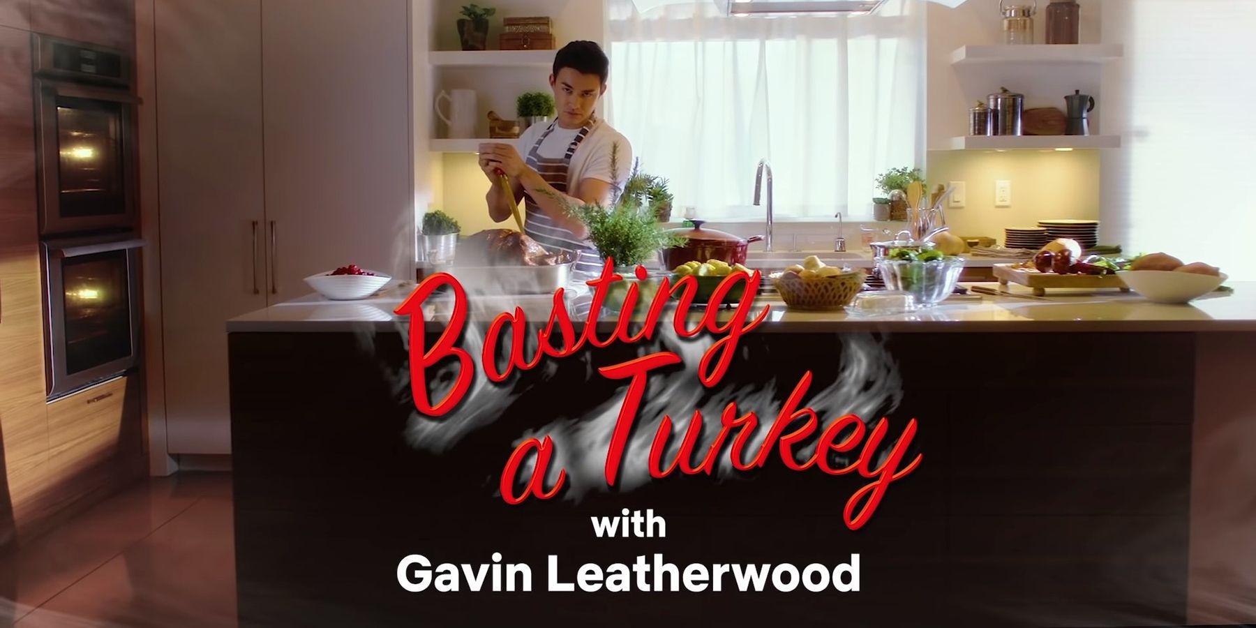 Sabrina S Nick Scratch Seductively Bastes A Turkey Cbr