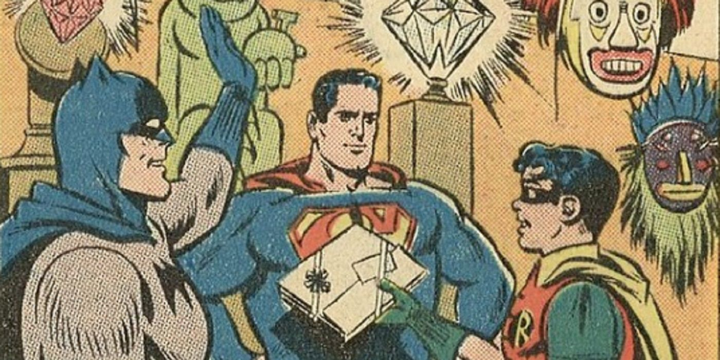 Before 'For the Man Who Has Everything,' Another Present for Superman!