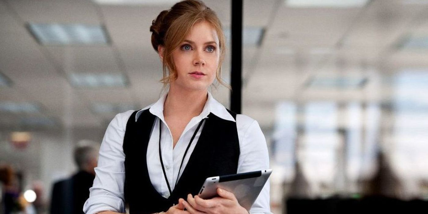 Amy Adams Isn't 'Officially' Done Playing Lois Lane