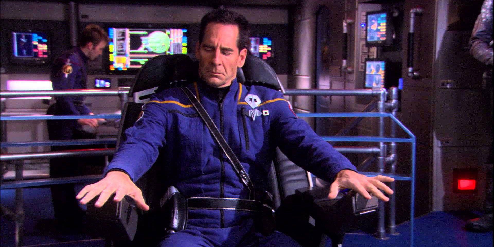 Star Trek: Enterprise's Future Guy Was Actually Archer   CBR