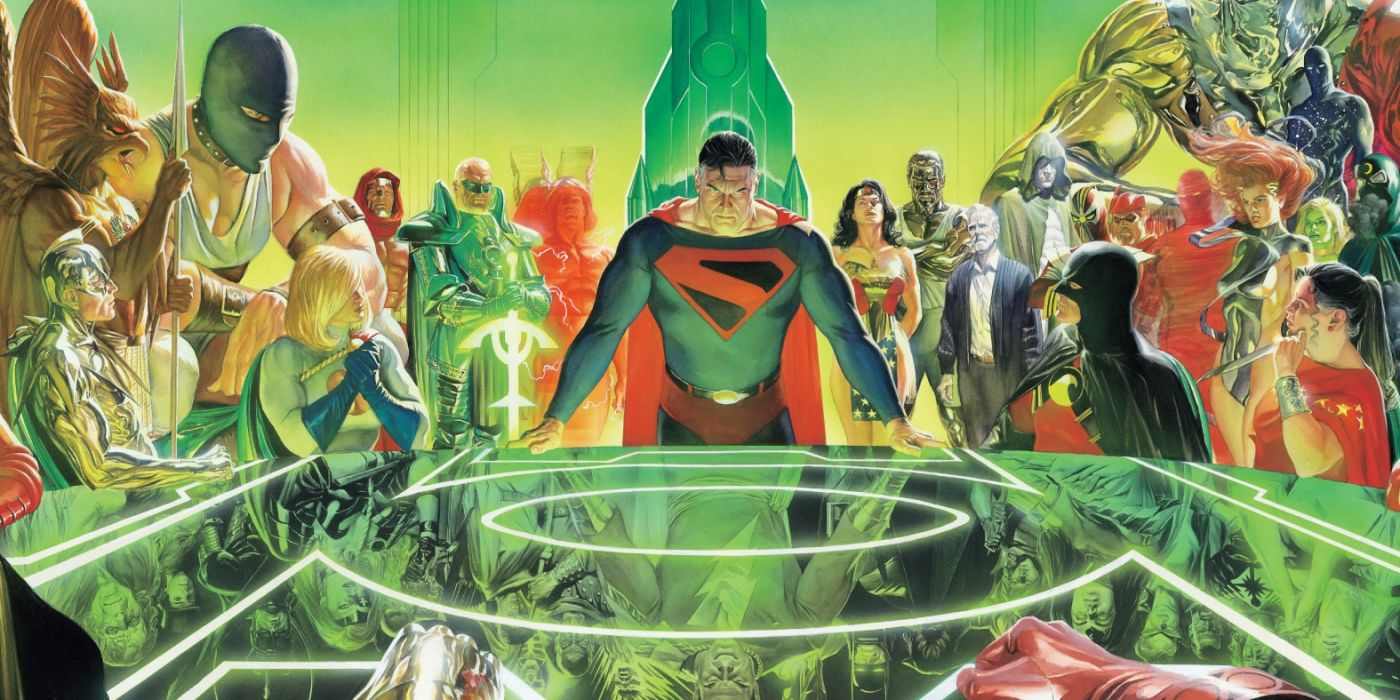 Young Justice: Bendis Shares First Look at Kingdom Come Crossover