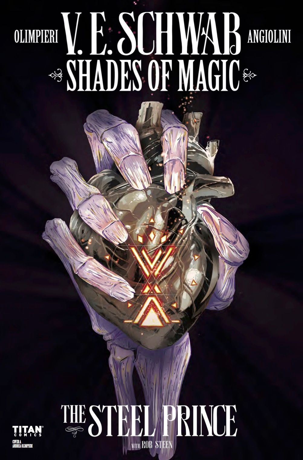 EXCLUSIVE: Shades of Magic: The Steel Prince #4