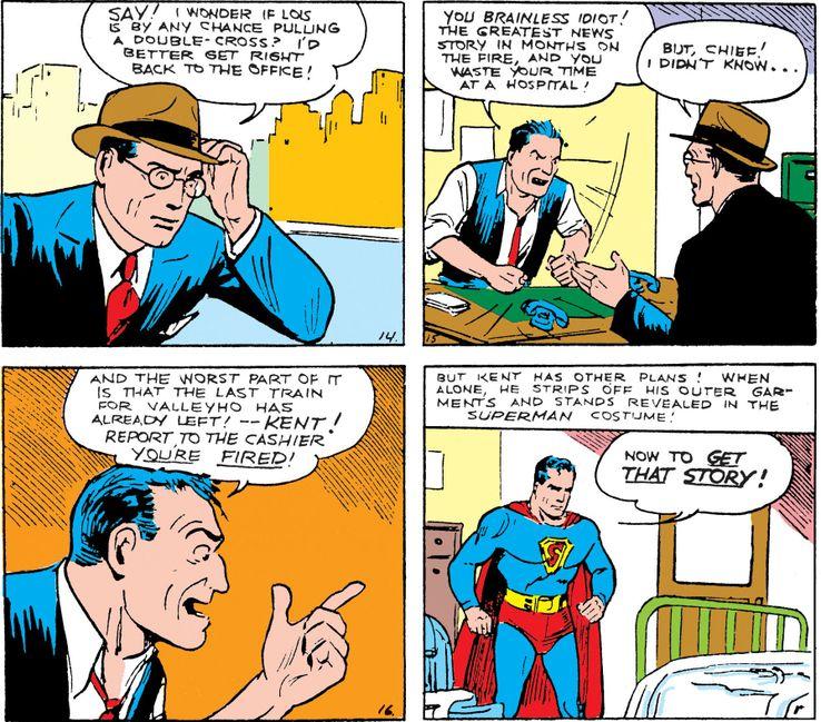 action 5 - La primera vez que Superman se abrió la camisa
