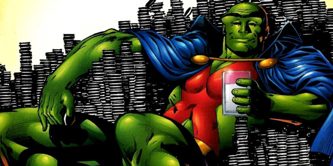 Let thisbe alesson dontmess with martian manhunter ouch