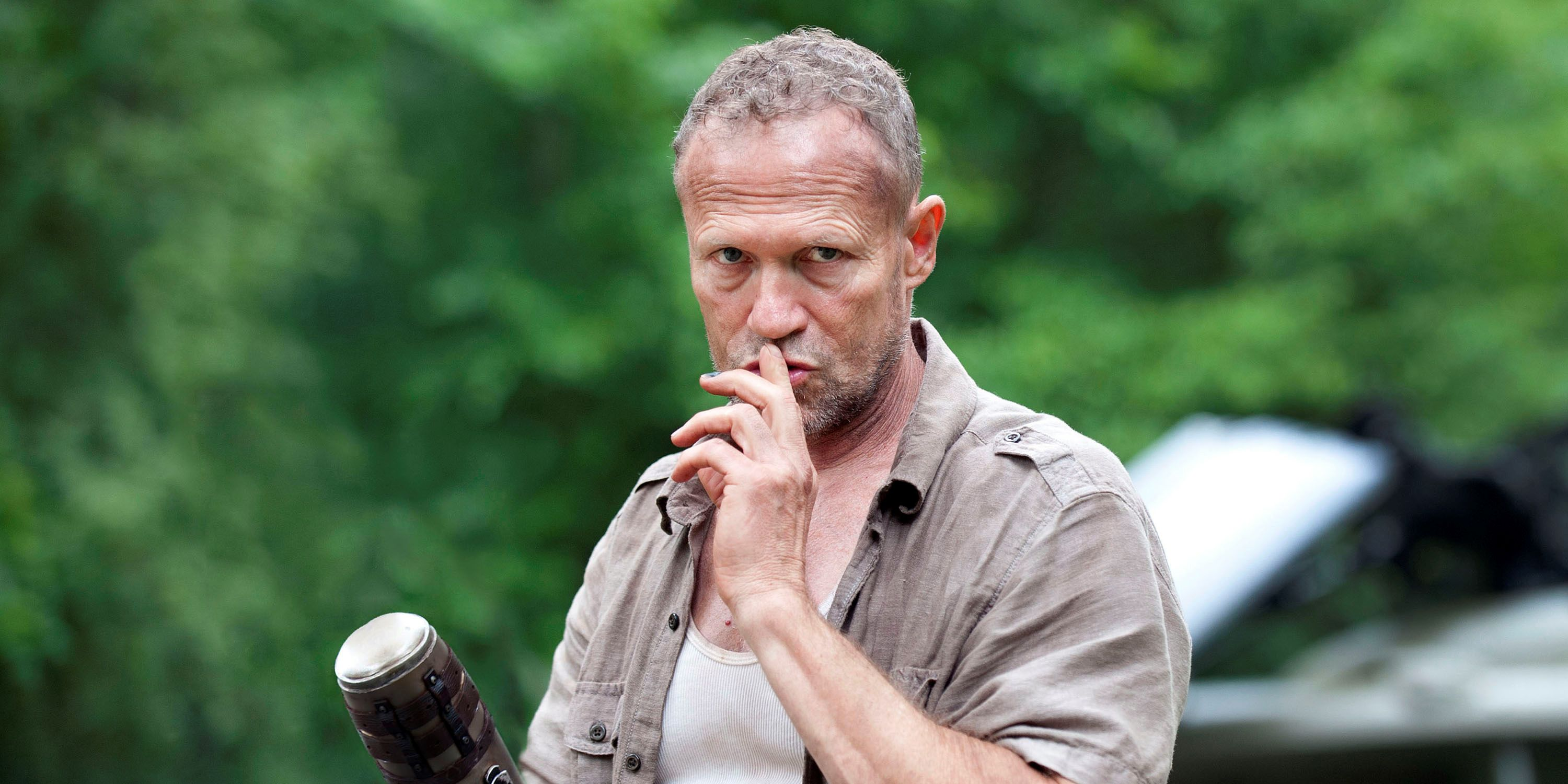 Michael Rooker Claims Walking Dead Killed Merle Because AMC Was 'Cheap'