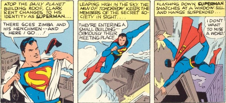 superman 11 - La primera vez que Superman se abrió la camisa
