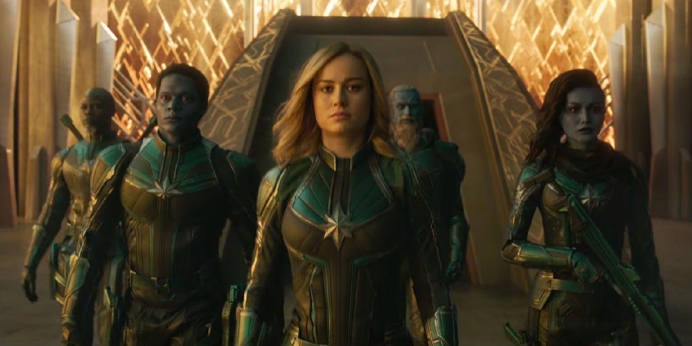 Captain Marvel Concept Art Reveals A Totally Different Design For Starforce