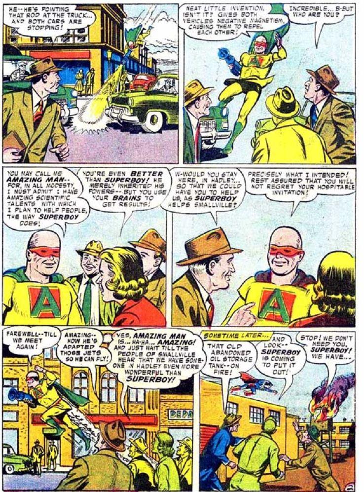 superboy 59 1 - ¿Cuándo conoció Superboy a Lex Luthor?