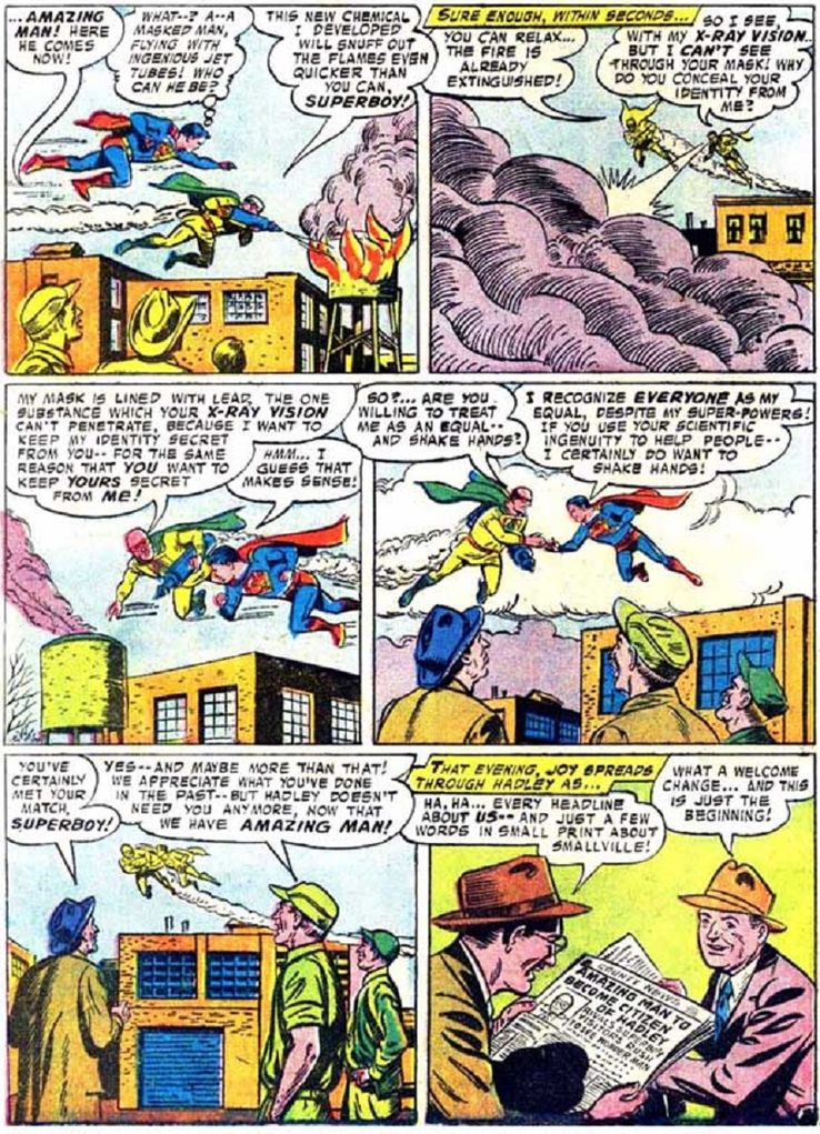 superboy 59 2 - ¿Cuándo conoció Superboy a Lex Luthor?