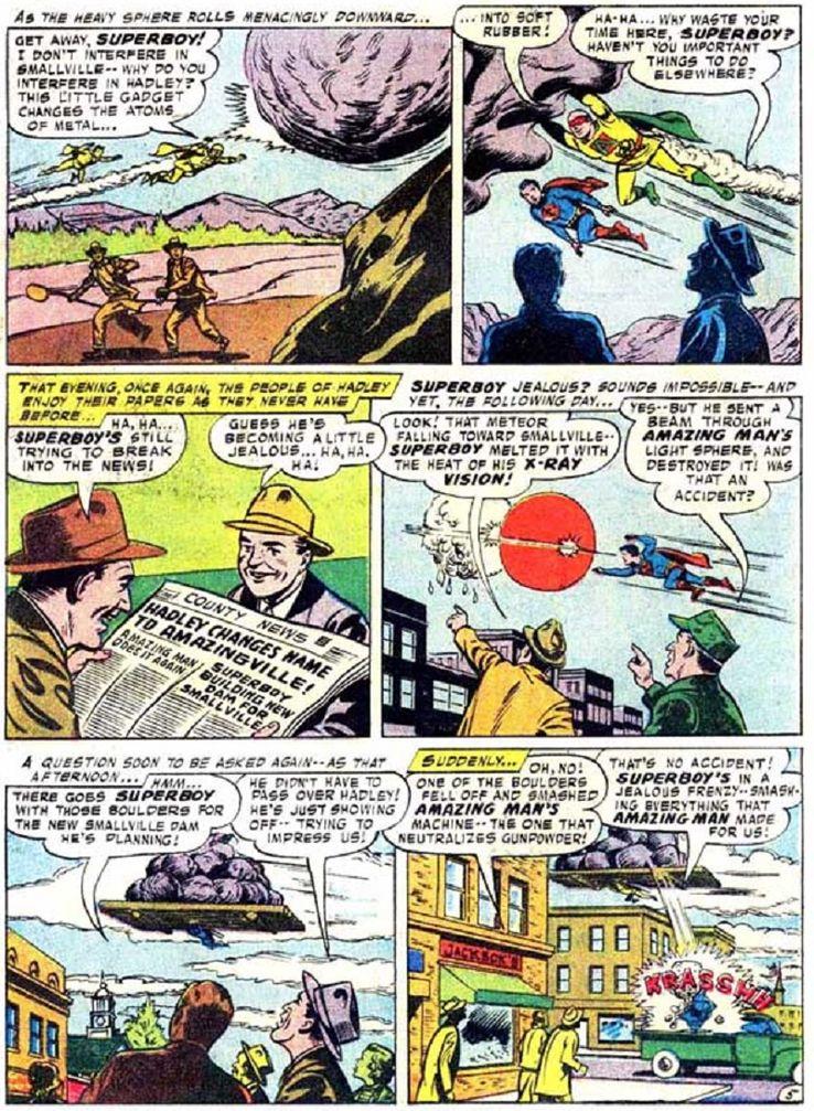 superboy 59 3 - ¿Cuándo conoció Superboy a Lex Luthor?