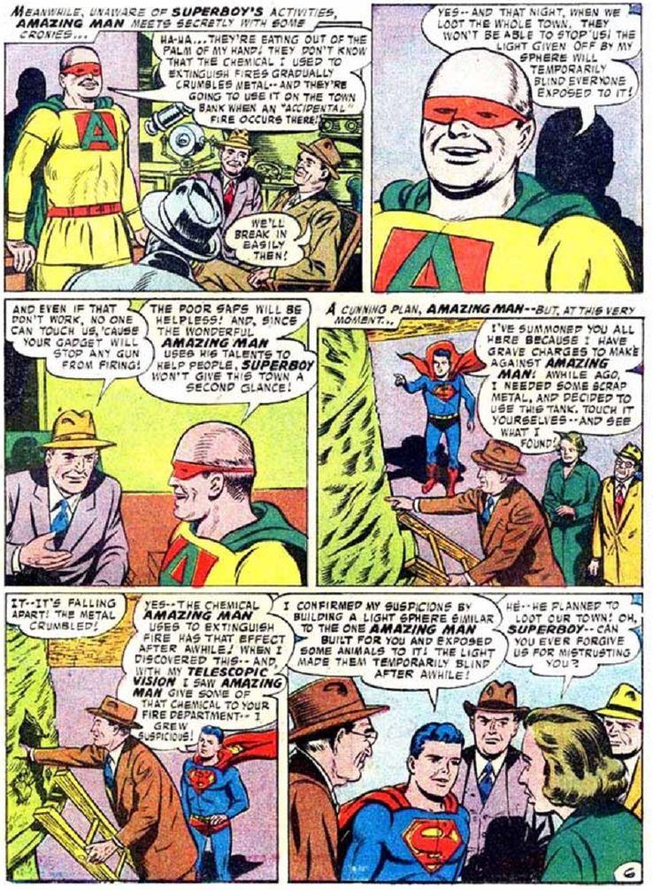 superboy 59 4 - ¿Cuándo conoció Superboy a Lex Luthor?