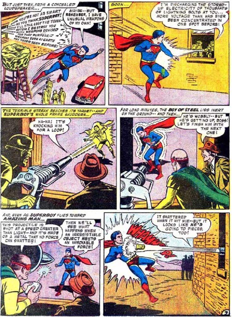 superboy 59 5 - ¿Cuándo conoció Superboy a Lex Luthor?