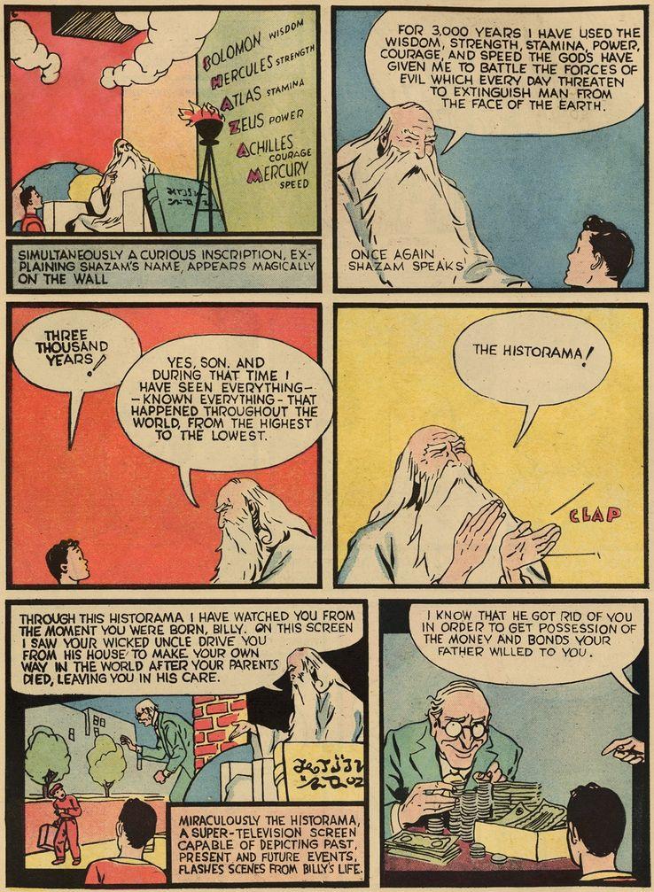 whiz comics 2 0 - Shazam! vs Superman: ¿Quién es más poderoso?