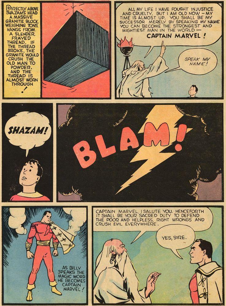 whiz comics 2 1 - Shazam! vs Superman: ¿Quién es más poderoso?