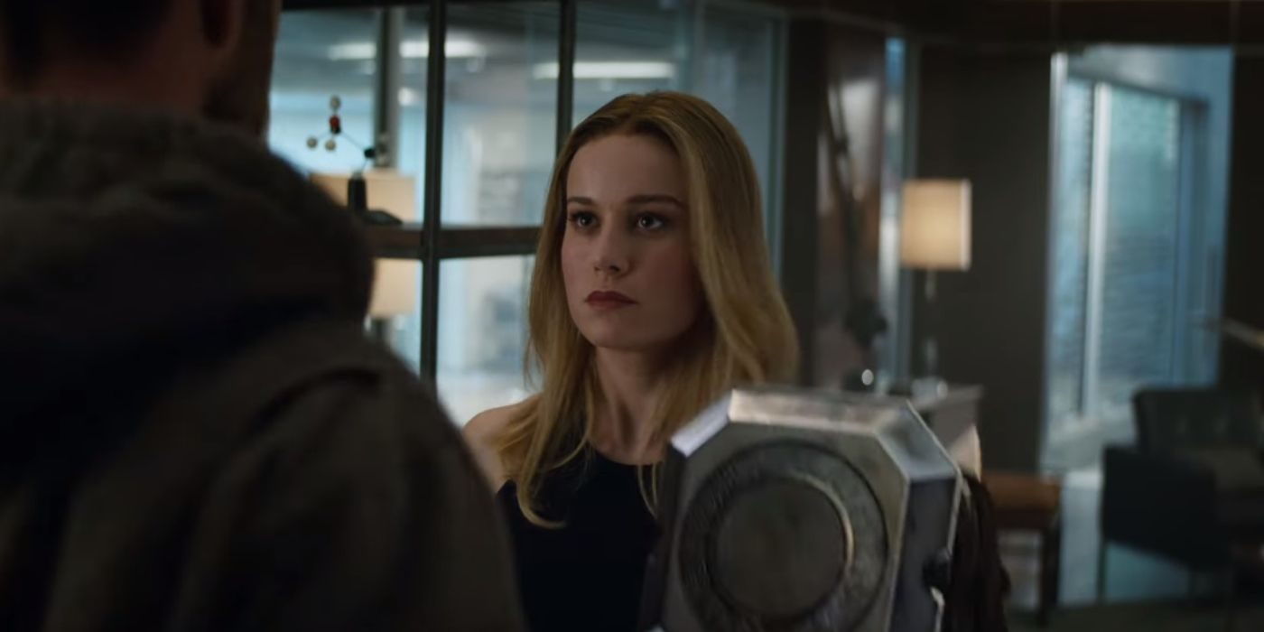 What Nobody Realized About Captain Marvel and Thor in the Avengers: Endgame Trailer