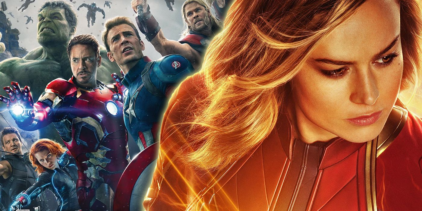 marvel's kevin feige explains why captain marvel wasn't in age of ultron