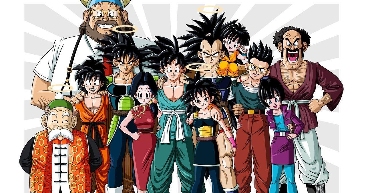 Son Goku Familie