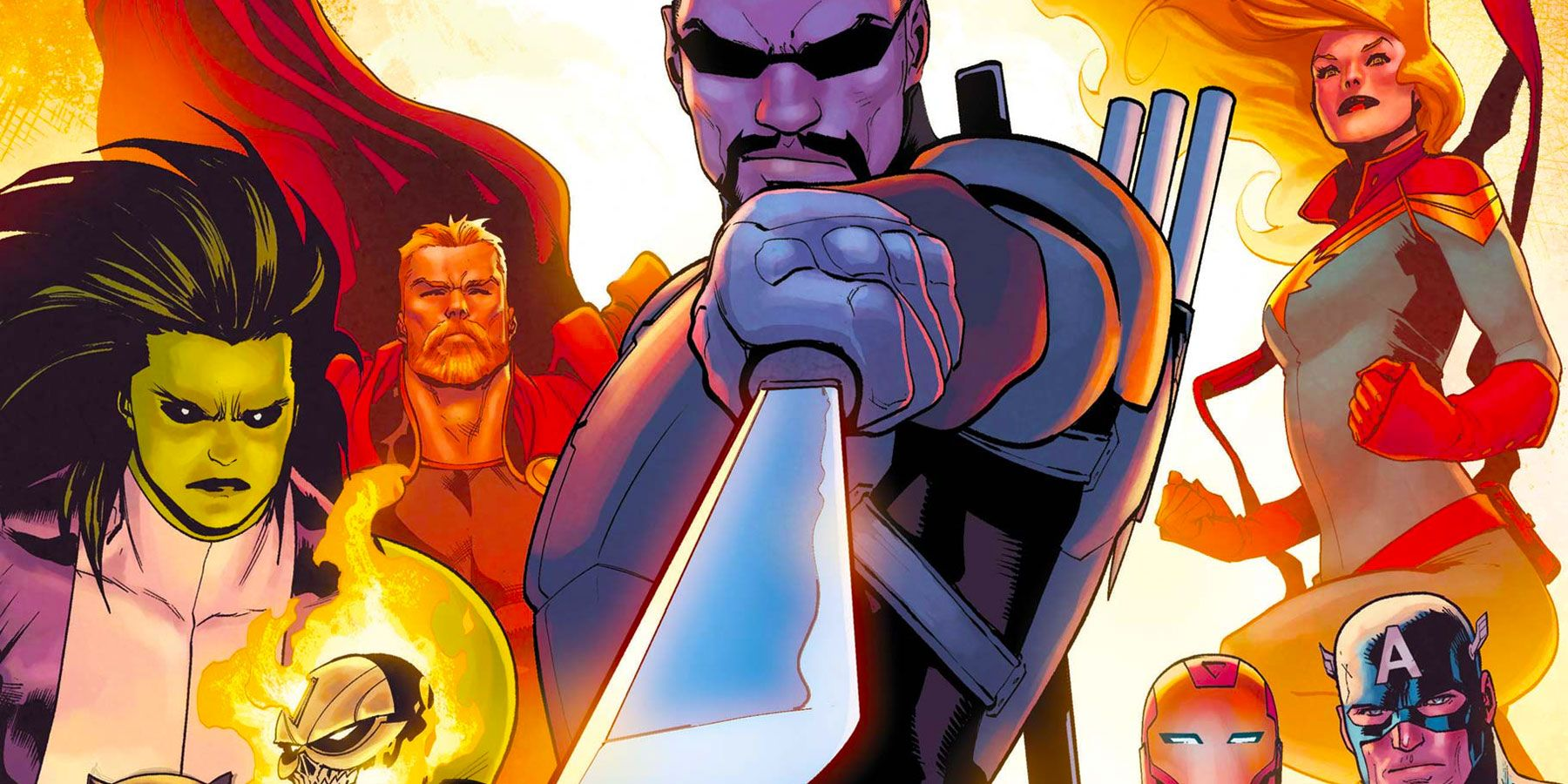 Avengers Gives Blade a Power Upgrade - and Kid Sidekick