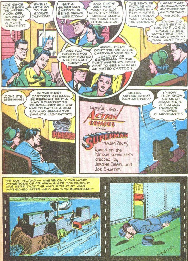 superman 19 1 - Superman ayuda a promocionar las películas de animación de Superman en los cómics