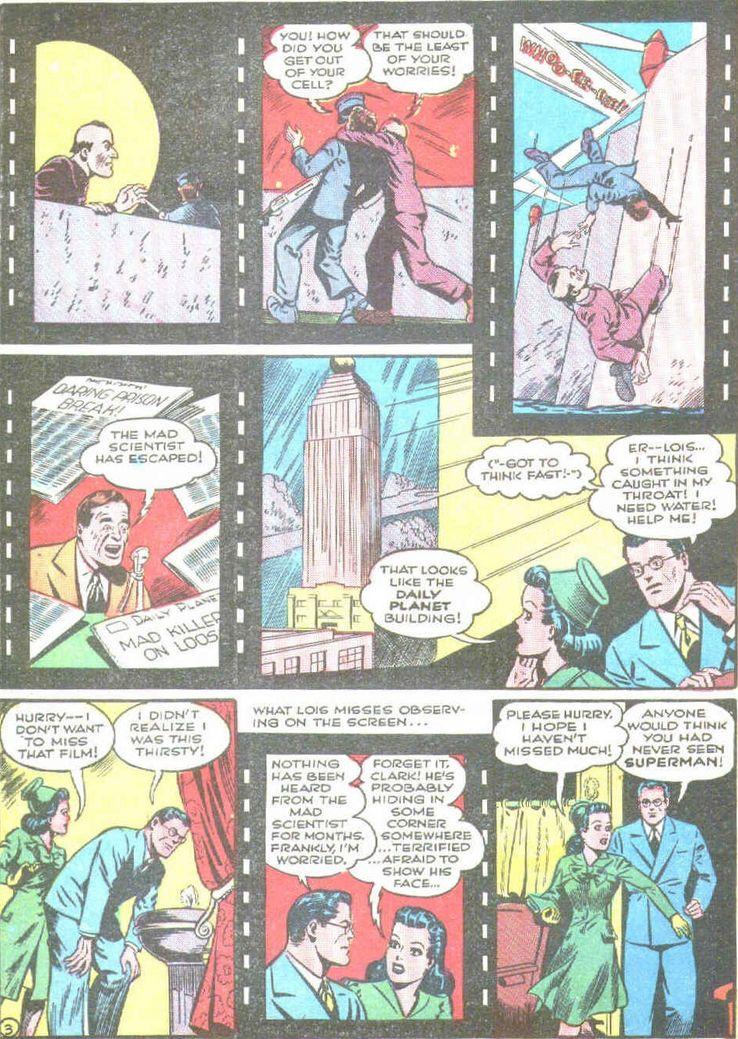superman 19 2 - Superman ayuda a promocionar las películas de animación de Superman en los cómics