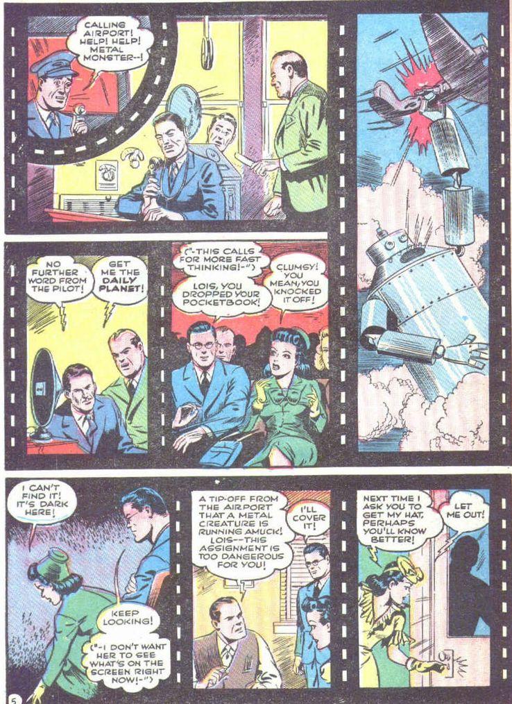 superman 19 3 - Superman ayuda a promocionar las películas de animación de Superman en los cómics