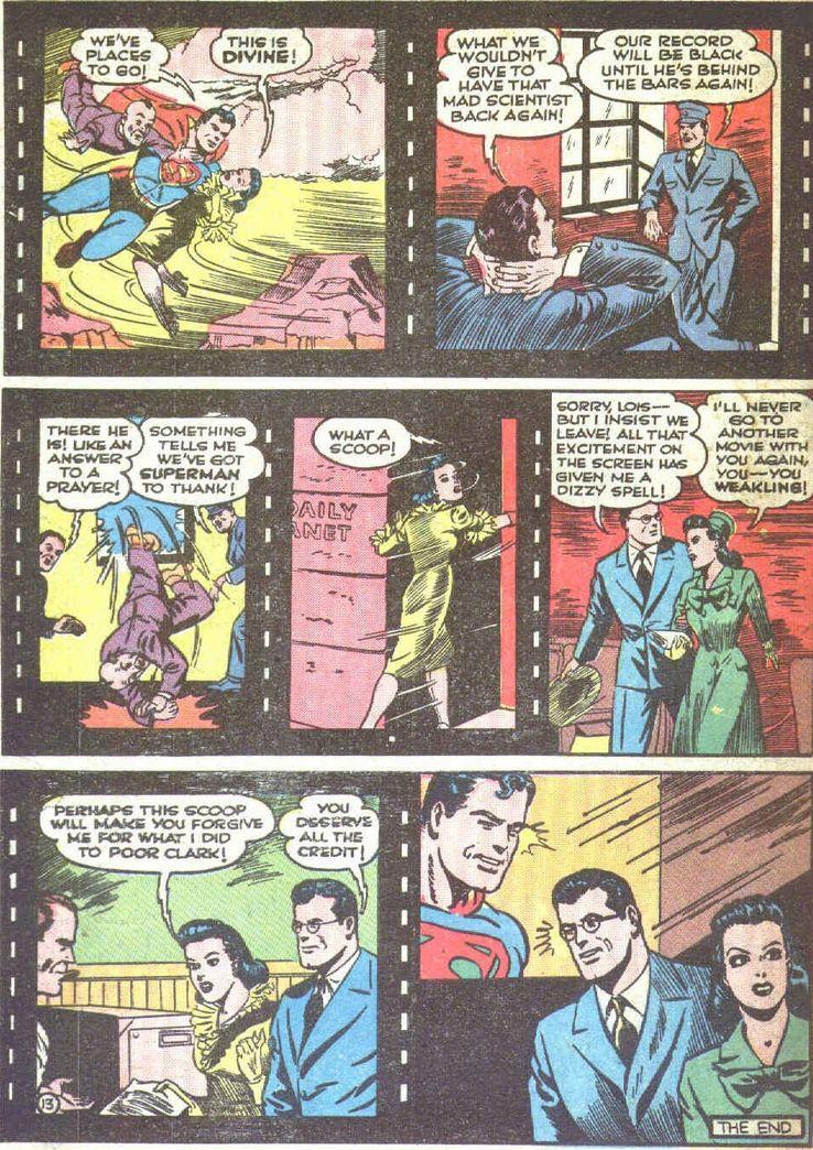 superman 19 6 - Superman ayuda a promocionar las películas de animación de Superman en los cómics