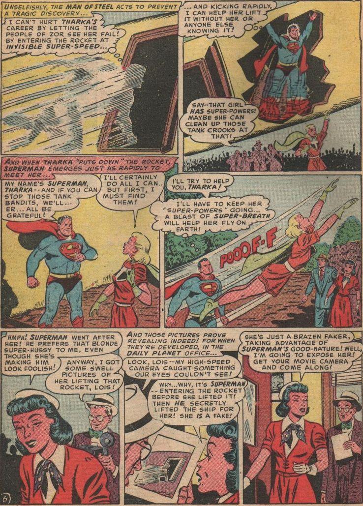 superman 81 1 - La primera vez que  Superman derretió plomo con sus poderes de visión